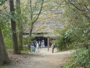 山の中の甲賀流忍術村