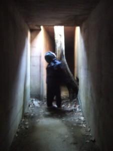 井戸の抜け穴