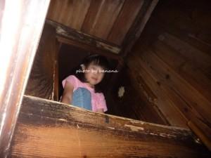 2階への抜け穴